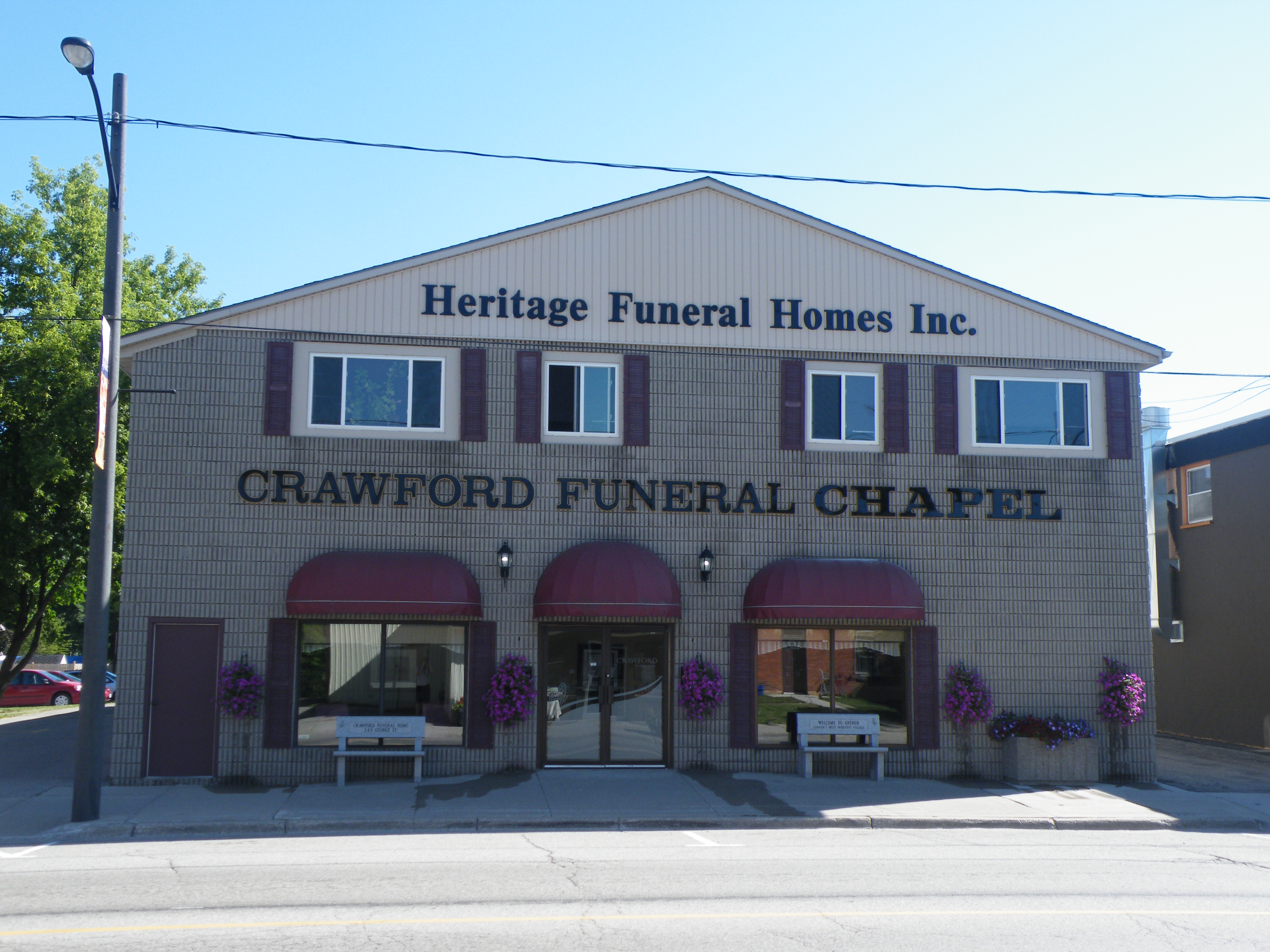 Heritage Funeral Home Arthur Ontario